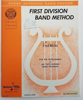 First Division Band Method Part 3 (Conductor/Piano)