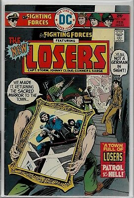 DC Comics Our FIGHTING FORCES #164 The LOSERS FN+ 6.5