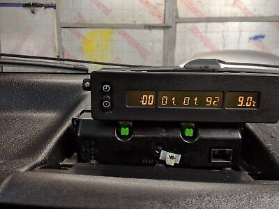 Vauxhall Corsa B  Lcd Radio Clock Time Display Top Clock