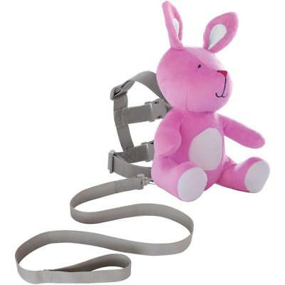 Child Harness Leash On the Goldbug 2-in-1 Safety Security Harness Buddy, Bunny