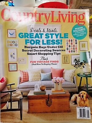Country Living Magazine MAY 2015 Issue