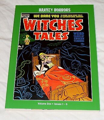 Witches Tales Volume 1 (Harvey Horrors) pre-code - collects #1-5 (PS Artbooks)