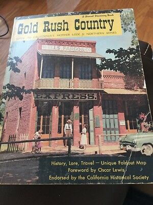Vintage Sunset Travel Book: Gold Rush Country (1957) California's Mother Lode