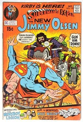 S179 SUPERMAN'S PAL JIMMY OLSEN #133 DC 5.0 VG/FN (1970) 1st JACK KIRBY DC Work`