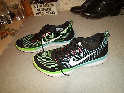 bf473494cc32 Mens Rare Nike Flywire Training Running Shoes Size 11 Neon Lift Run Jump Cut