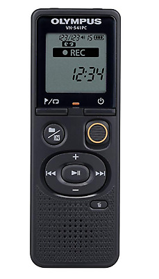 Brand New Sealed Olympus VN-541PC Black 4GB Digital Voice Recorder Black PC Link