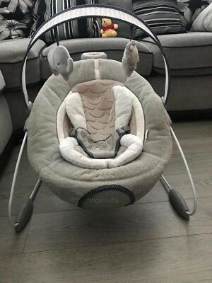 Ingenuity DreamComfort Smart Bounce Automatic Baby Bouncer / Rocker