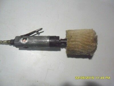 B91) Universal Air Tools Buffing Polishing Tool In Good Working Order
