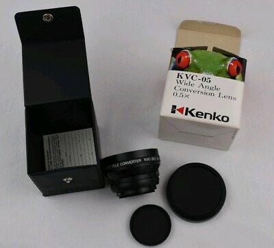 KENKO KVC-05 Wide Angle Conversion Lens 0.5X  in original Box Made in Japan