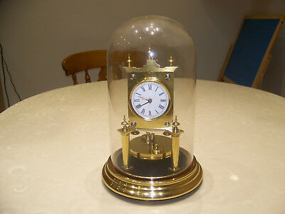 400 day clock,torsion dome clock,anniversary clock-HARDER  1882-3