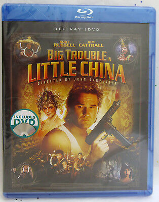 Big Trouble in Little China ~  Kurt Russell ~ BLU RAY + DVD Movie