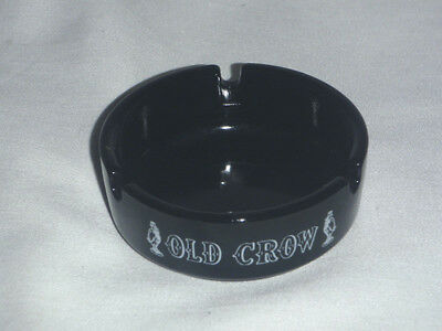Old Crow ashtray - whiskey bourbon vintage tobacco advertising cigarette cigar