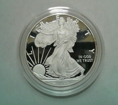 2012 S Proof Silver Eagle from the two coin San Francisco set