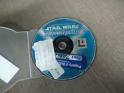 Sony PlayStation 1 PS1 PSX Disc Only Star Wars Episode I Jedi Power Battles BL