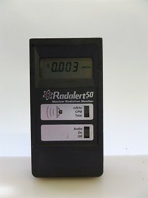 Medcom Radalert 50 Digital Nuclear Radiation Monitor Geiger Counter