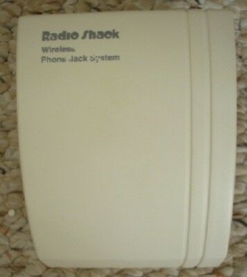 Radio Shack 43-160 Wireless Phone Jack System, Base Unit Only