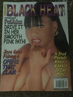 Swank's Black Heat Magazine Cover Girl PEBBLES March 2001