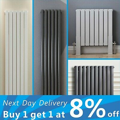 Designer Radiator Horizontal Vertical Flat Panel Oval Column Heating Panel Rads