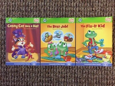 Leap Frog Tag Reading System paperback books, lot of 3