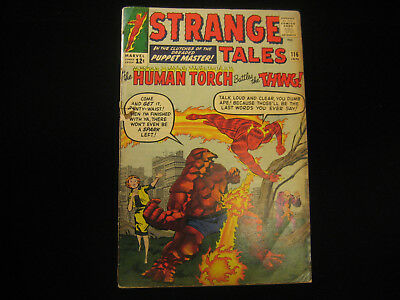 Strange Tales #116 (1964, Marvel) Low Grade