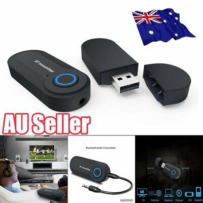 Bluetooth 4.2 A2DP Stereo Audio Adapter Dongle Sender Transmitter For TV ON