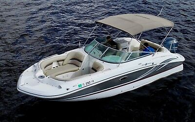 2012 Hurricane 2400 Sundeck SD SEA RAY deck Chaparral bow BOWRIDER regal YAMAHA