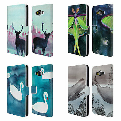 Official Mai Autumn Animals Leather Book Wallet Case Cover For Samsung Phones 2