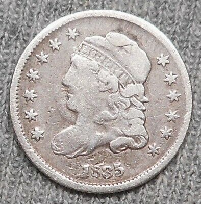 1835 Capped Bust Half Dime - Small Date/Small 5