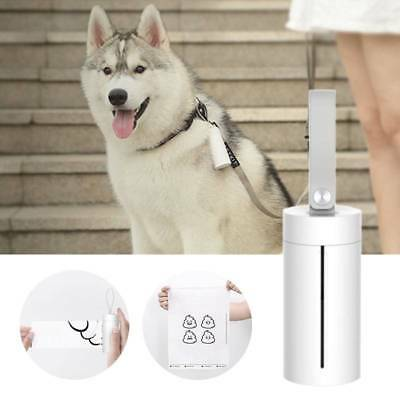 Garbage Case Dispenser Carrier Holder Waste Bag Box Pet Dog With Poop Bags