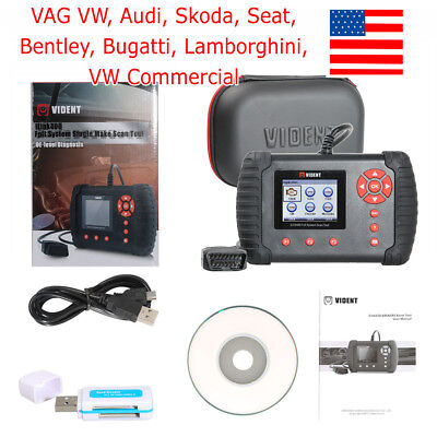 USA Ship VIDENT iLink400 Full System Single Make Scan Tool OE-level Diagnosis