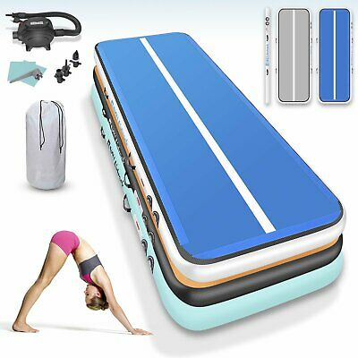 inflatable air track gymnastics 20 ft tumble track tumbling mat With Air Pump US