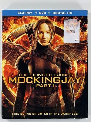 The Hunger Games: MockingJay - Part 1 (Blu-ray + DVD) New Sealed