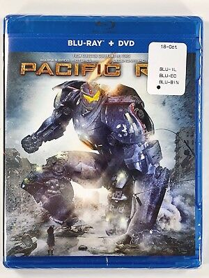 Pacific Rim (Blu-ray + DVD, 2013, 2-Disc Set) New Sealed