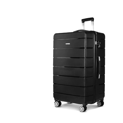 "Wanderlite 28"" Suitcase Luggage Black"