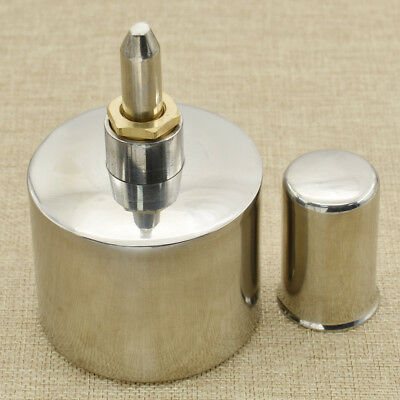 Alcohol Lamp Burner With Wick 200ml Stainless Steel Biology Dental Lab Lamp