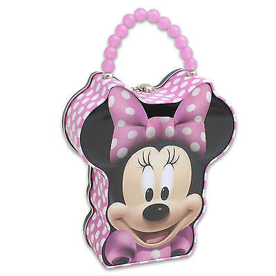 """New 213620  Minnie Head-Shaped Purse With Beaded Handle - 8""""H (12-Pack)"""