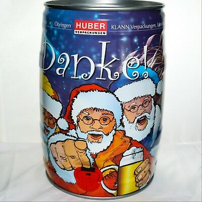 Old 5L Christmas Beer Keg from Germany