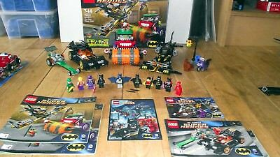 Lego DC Superheroes Batman lot: 6858, 76012, 76013 (1 Box)