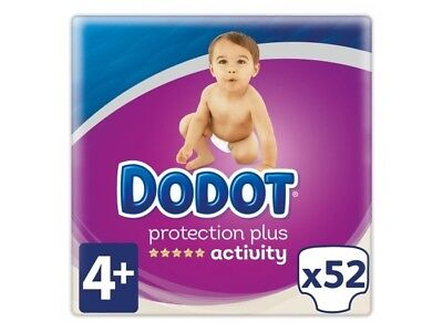 Dodot Pañales Activity Extra T.4 10-15 kgs (52 uds)