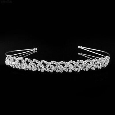 0333 Elegant Crystal Rhinestone Wedding Party Bridal Tiara Headband Glitter