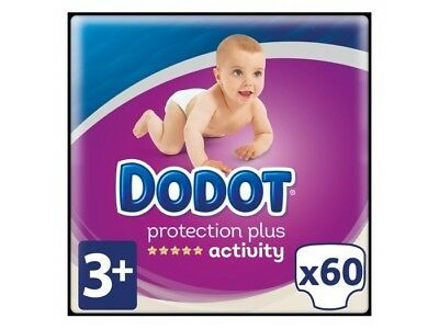 Dodot Pañales Activity Extra T.3 7-11 kg (60 uds)