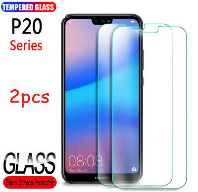 Premium For Huawei P20 Case Pro Lite P10 Tempered Glass Screen Protector Lot