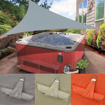 100% Waterproof Sun Shade Sail Outdoor Top Canopy Patio UV Block Triangle 9.8""