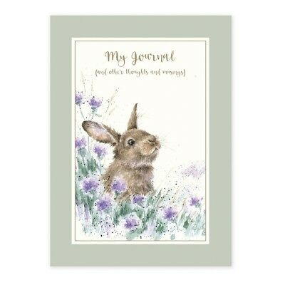 Wrendale Designs Rabbit and Hare Gratitude Journal - The Country Set Journal