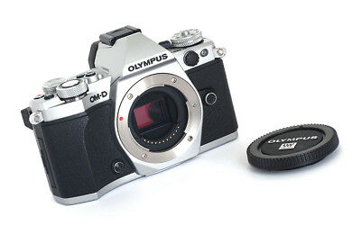 OLYMPUS OMD-EM5 MARK Ii Body In Chrome - Minty Boxed Example!