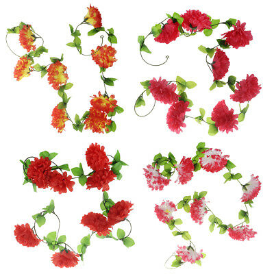 Artificial Silk Chrysanthemum Flower Funeral Memorial DIY Hanging Garland
