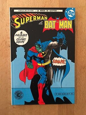 Superman et Batman - Kidnappé - Edition cartonnée - Sagédition - 1983 - NEUF