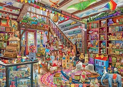 NEW! Ravensburger Fantasy Toy Shop by Aimee Stewart 1000 piece jigsaw puzzle