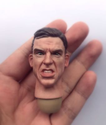 """1/6th World War II German soldiers head sculpt  For 12"""" HT Male Action"""