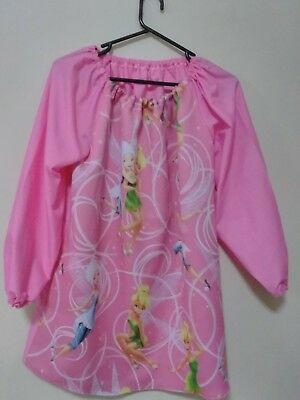 Handmade Kids party triple weave front gives protection Art Smock Girls 12-14